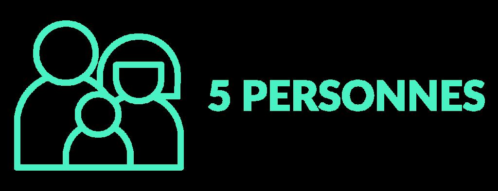 5personnes